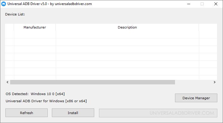 Universal ADB Driver v5.0