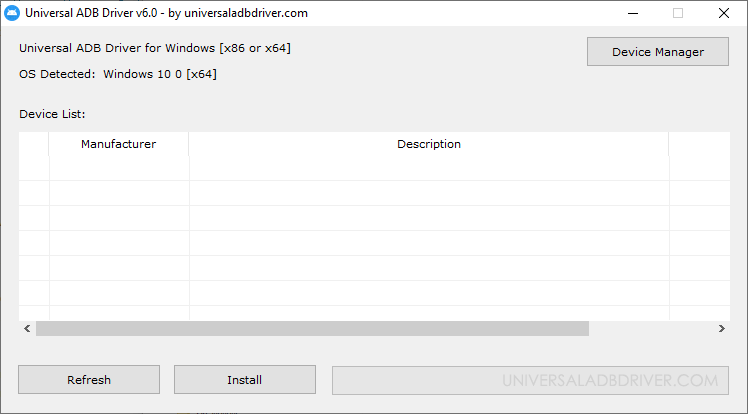 Universal ADB Driver v6.0